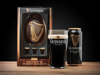 Guinness-sjokoladeegg